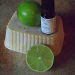 Fresh Lime, Natural Beeswax and Lime Essential Oil