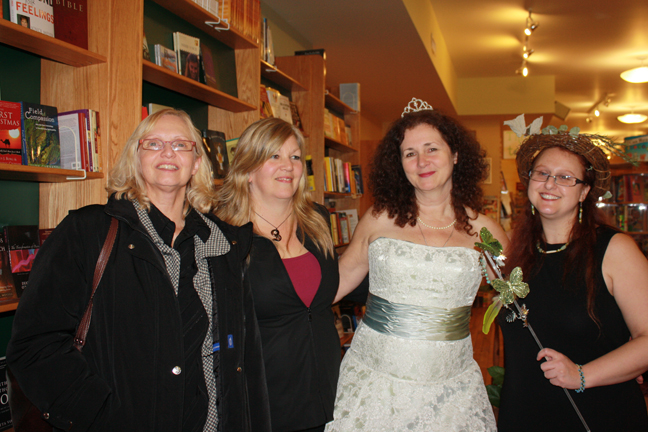 Connie, Lisa, Mary and Heather at The Cancer Journal Heal Yourself Book Launch photo