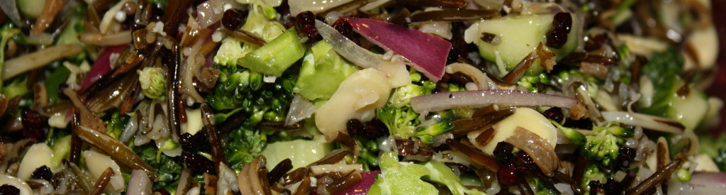 Raw Wild Rice Salad photo