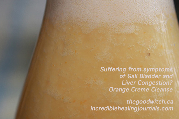 Orange Banana Creme Liver Cleanse
