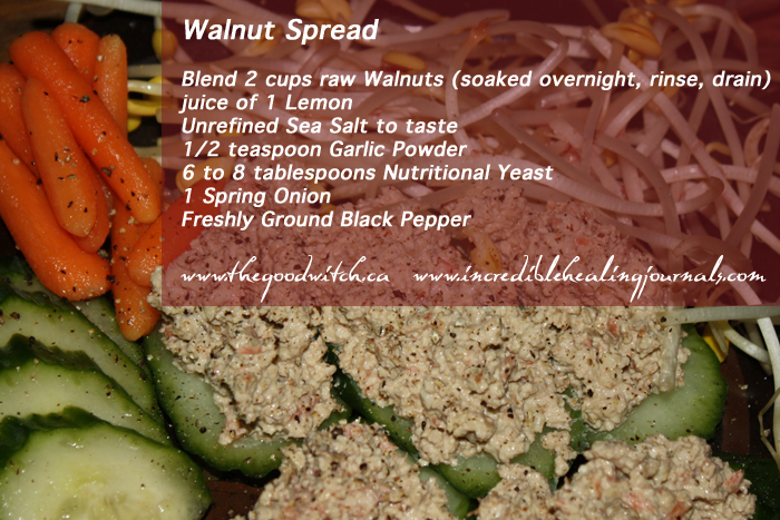 Walnut Spread for Ketogenic Diet Cancer